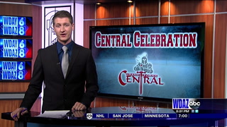 Central celebrates 27th state hockey title