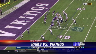 Vikings shut down Rams' high-powered attack in key 24-7 win
