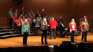 """""""The Ugly Christmas Sweater Song"""" by the MAHS Express"""