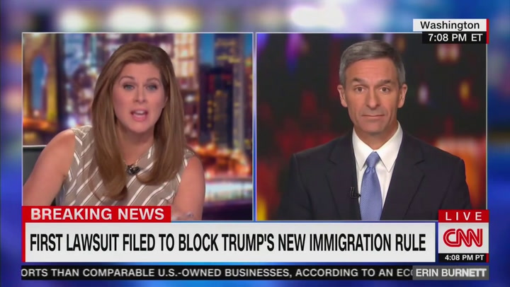 Ken Cuccinelli: Statue of Liberty Poem Was About 'People Coming From Europe'