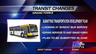 Bus routes in Grand Forks could see change