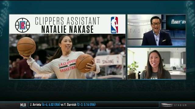 Clippers Coach Natalie Nakase, One of Six Female Assistants in the NBA, Breaks Down the Playoffs