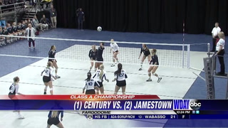 Century wins third straight Class A volleyball title