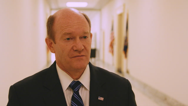 Sen. Coons: The president's actions are impeachable — if the allegations are true