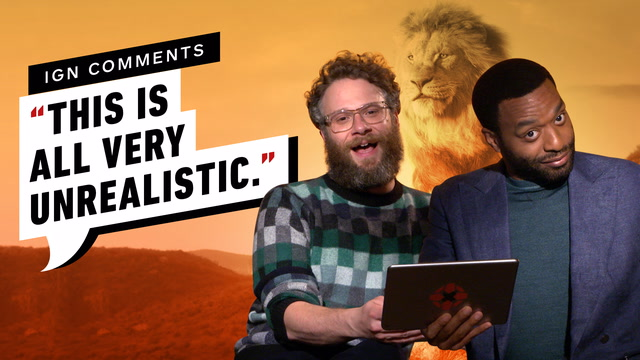 The Lion King Cast Respond to IGN Comments