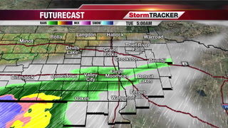 StormTRACKER Forecast Monday Night