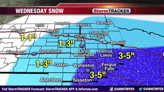 Tracking Snow Late Tonight - Wednesday