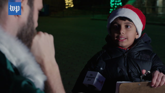 We asked a kid to pretend to be Santa in a mock interview. He was way too good at it.
