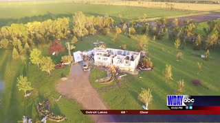 Family still thankful after tornado hit home
