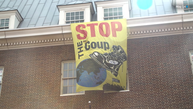 Protests continue at the Venezuelan Embassy in D.C.
