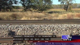 Man walks home after being hit by 80 mph train