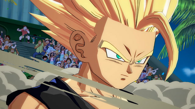 A Full Match of Dragon Ball FighterZ Closed Beta