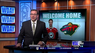He's back: Cullen returns to Wild for 20th NHL season