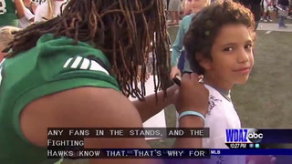 UND hosts Fan Fest 2016