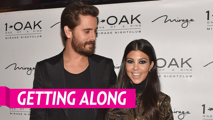Kourtney Kardashian Is 'Proud' of Her Amicable Relationship With Ex Scott Disick and His Girlfriend Sofia Richie