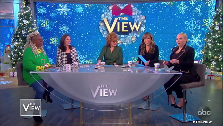 Whoopi Goldberg Scolds 'The View' Audience for Cheering Impeachment