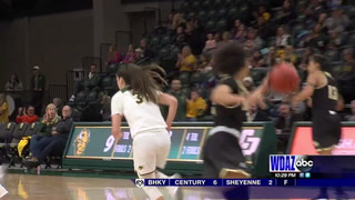 Cal Poly hands NDSU women fifth straight loss
