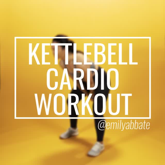 Kettlbell Cardio Workout with Emily Abbate