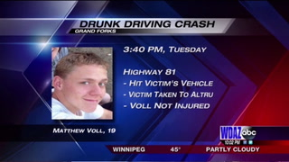 Drunk driver sends woman to hospital