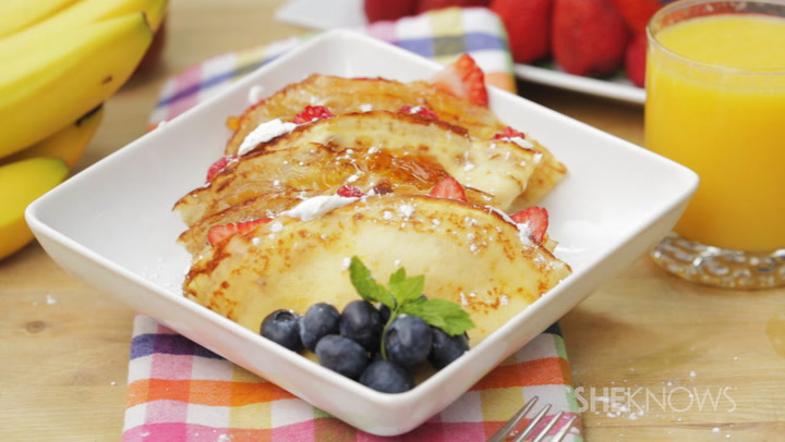 DIY crepes that taste just like the ones at your favorite restaurant (VIDEO)