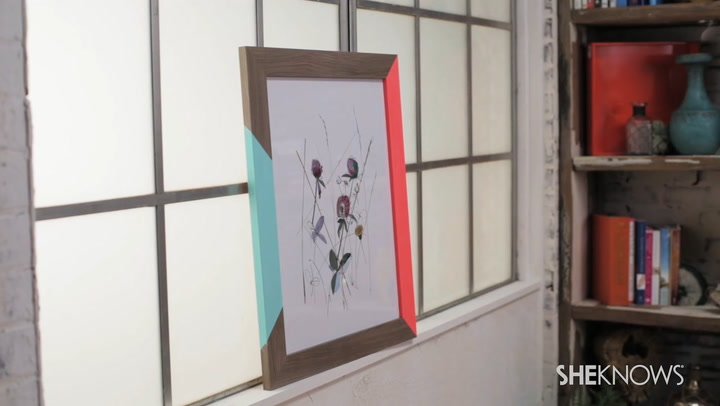 Ikea hack: Upgrade your boring picture frame (VIDEO)