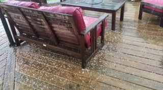 Hail in Kenwood
