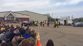 River Falls High School Mock Car Crash 2016