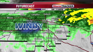 StormTRACKER Forecast: Rainy Thursday Afternoon