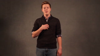Duluth East High School student performs speech on depression