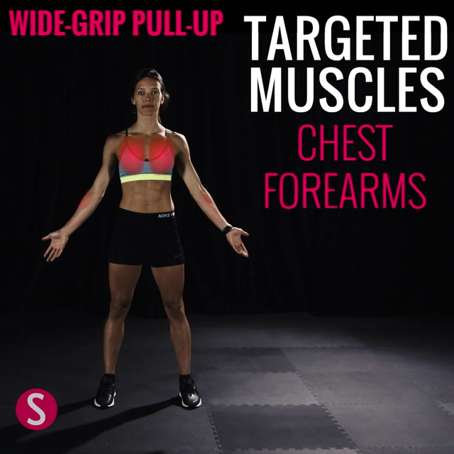 Moves and Muscles: Wide-Grip Pull-Up