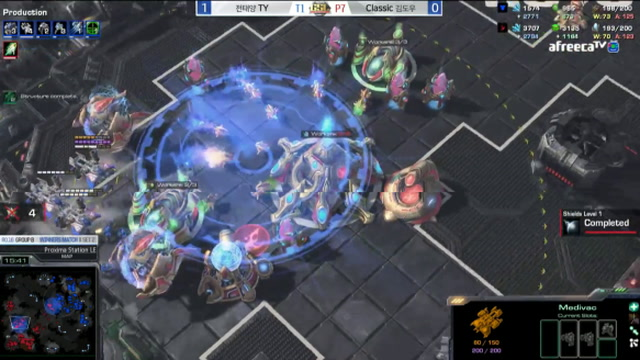 GSL - TY On The Attack