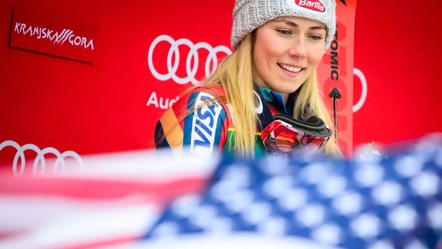 What Mikaela Shiffrin thinks about when flying down the slope