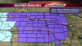 Blizzard Warning Downgraded to Winter Weather Advisory