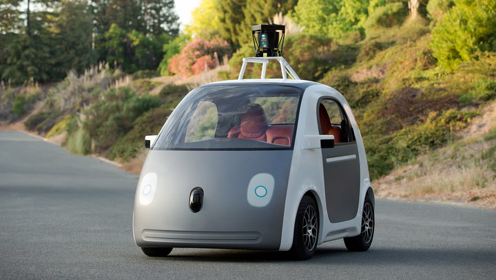 Google's Self-Driving Car Is Real, And It Looks Like A Tiny Bubble-Car