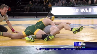 No. 22 Wyoming tops NDSU on the mat
