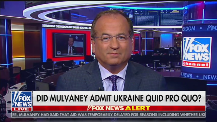 Laura Ingraham: Mick Mulvaney Admitted to Quid Pro Quo Because He's Not a Lawyer (Except He Is!)