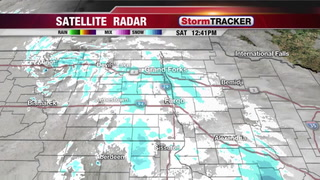 StormTRACKER Saturday Snow Update