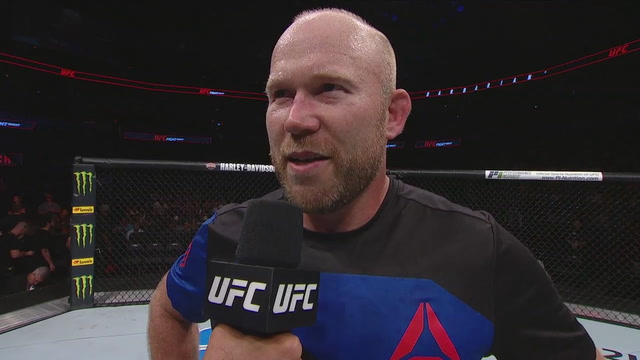 Tim Boetsch speaks after his knockout win over Johny Hendricks | UFC FIGHT NIGHT