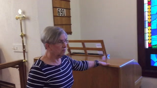 Tour of St.Andrews church in Cloquet before closing
