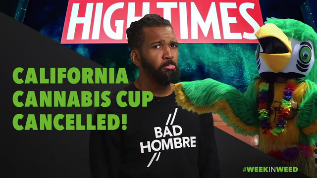 This Week in Weed: Cali Cannabis Cup Cancelled!