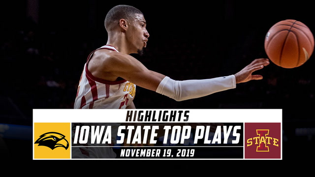 Iowa State Cyclones Basketball Top Plays vs. Southern Mississippi (2019-20)