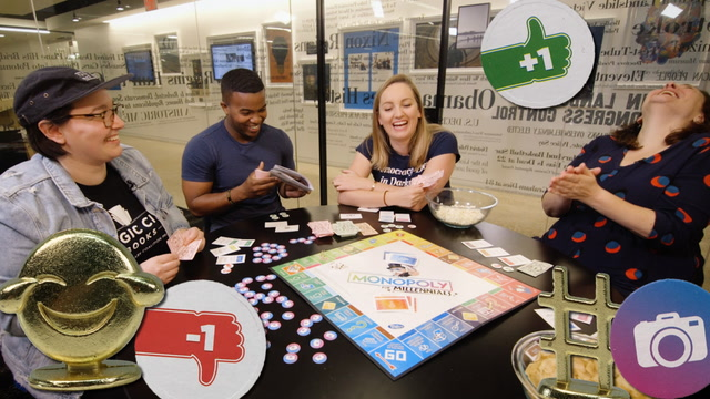 We played 'Monopoly for Millennials,' and it hurt our feelings