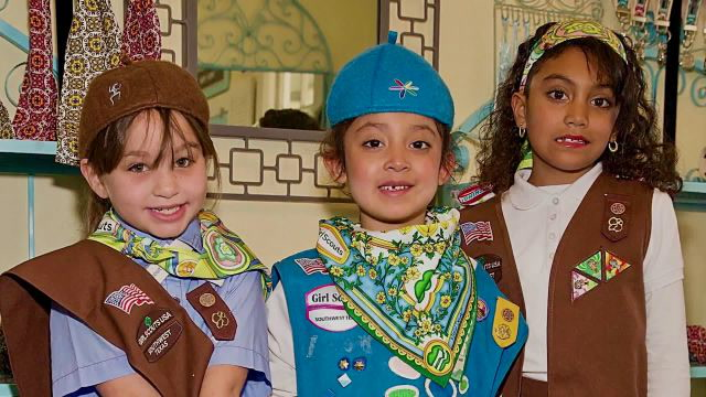 How The Girls Scouts of America Empowers Young Girls