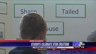 Students show off STEM Academy creations