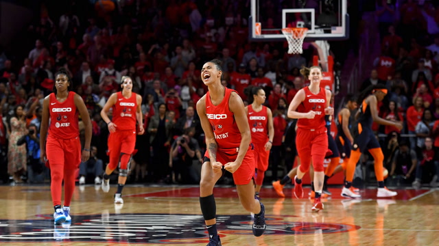 Washington Mystics celebrate first WNBA Championship
