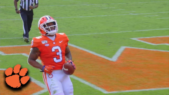 Clemson's Amari Rodgers Is Untouched On Way To The Endzone