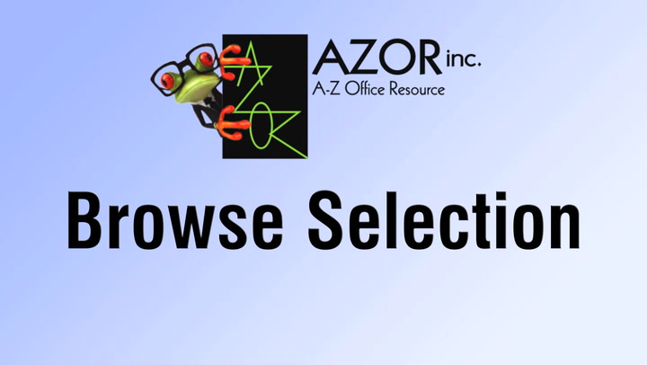 Browse Selection on shop.AZORinc.com