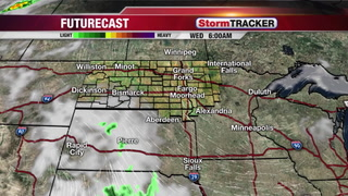 StormTRACKER Tuesday Evening Forecast