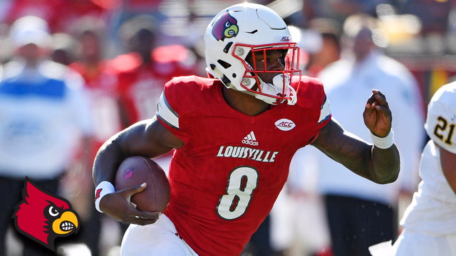 Lamar Jackson: Best Plays of September 2017