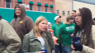 River Falls St. Paddys Day Bed Races 2016